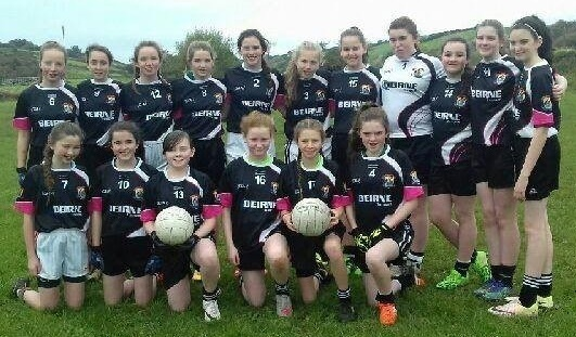 U13 Girls 2016 Team